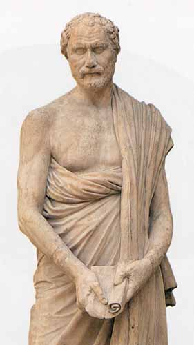 Demosthenes (384 BC 322 BC) is generally considered the greatest of the  Attic orators, and thus the greatest of all Ancient Greek orators.