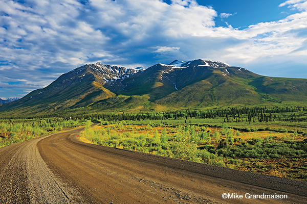 ©Mike Grandmaison Tombstone Mountain Campground, Ogilvie Mountains on the  Dempster Highway, YT Gear