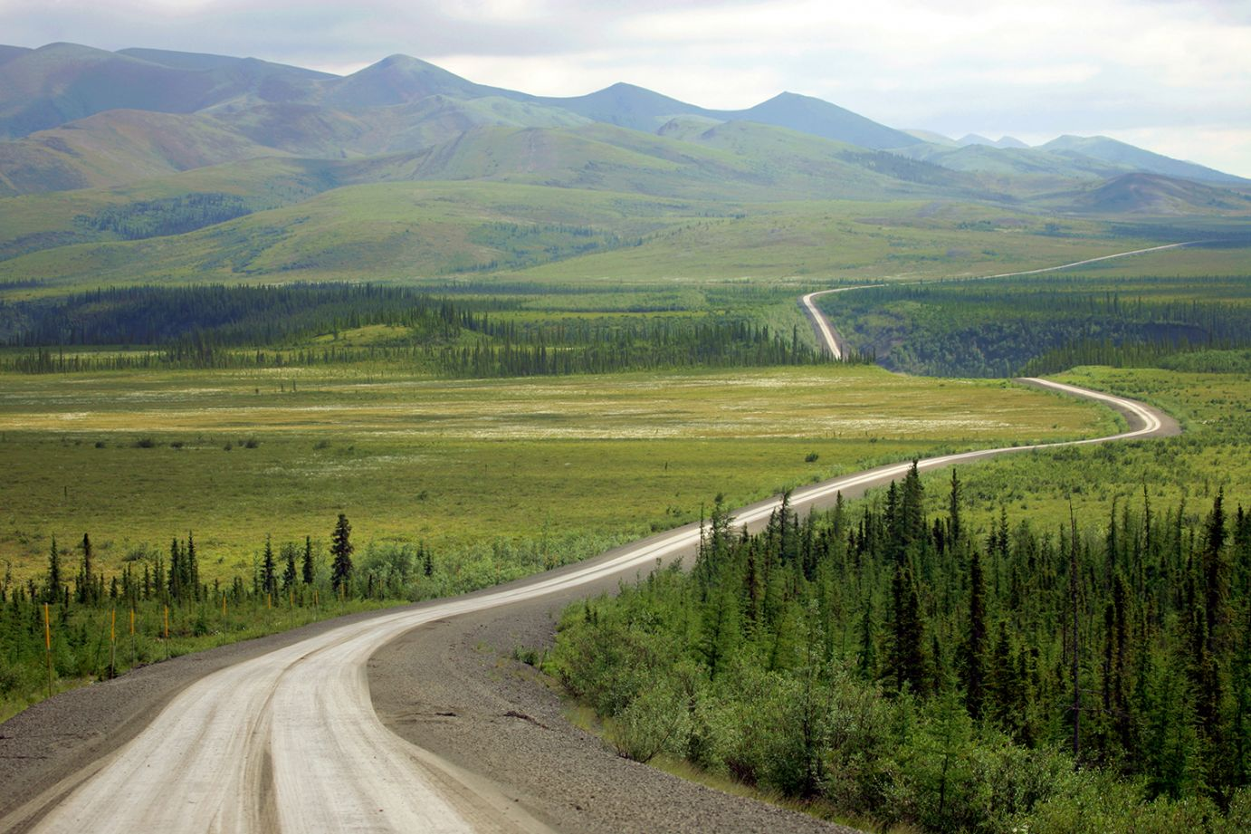 Drive the great adventure on the wild Dempster highway