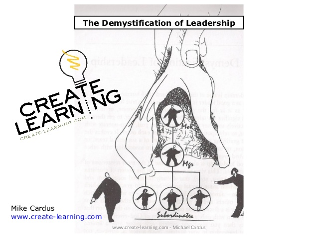 The Demystification of LeadershipMike Carduswww.Traveller Location  www.create-learning