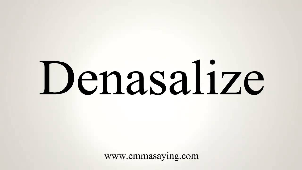 How to Pronounce Denasalize