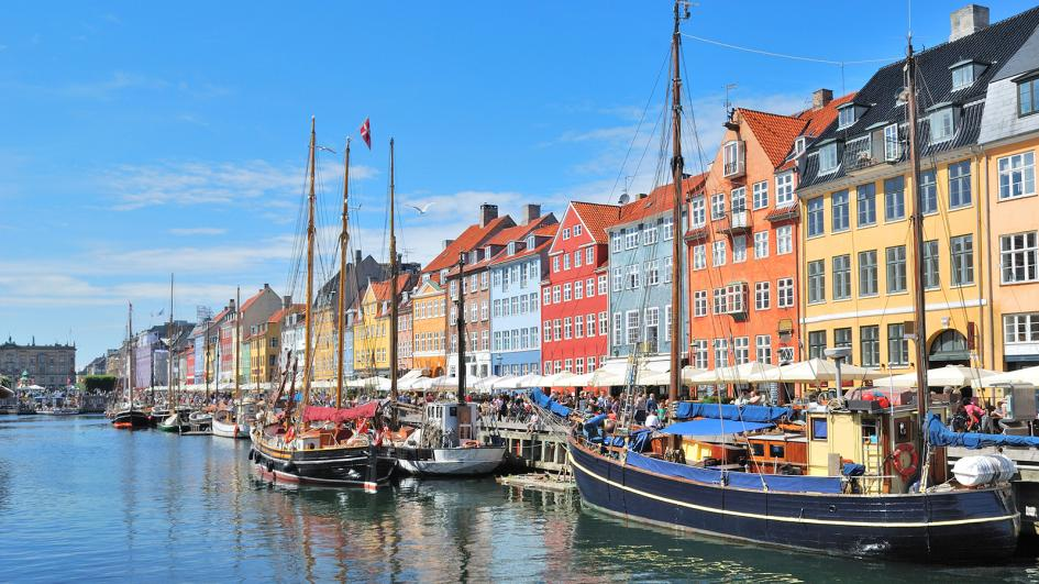 Cities in Denmark have many canals.