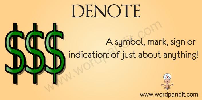 Picture for Denote