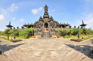 Bajra Sandhi monument in Puputan Park, Denpasar