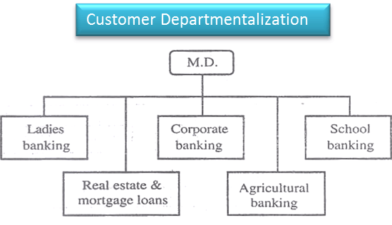 Advantages of customer departmentalization