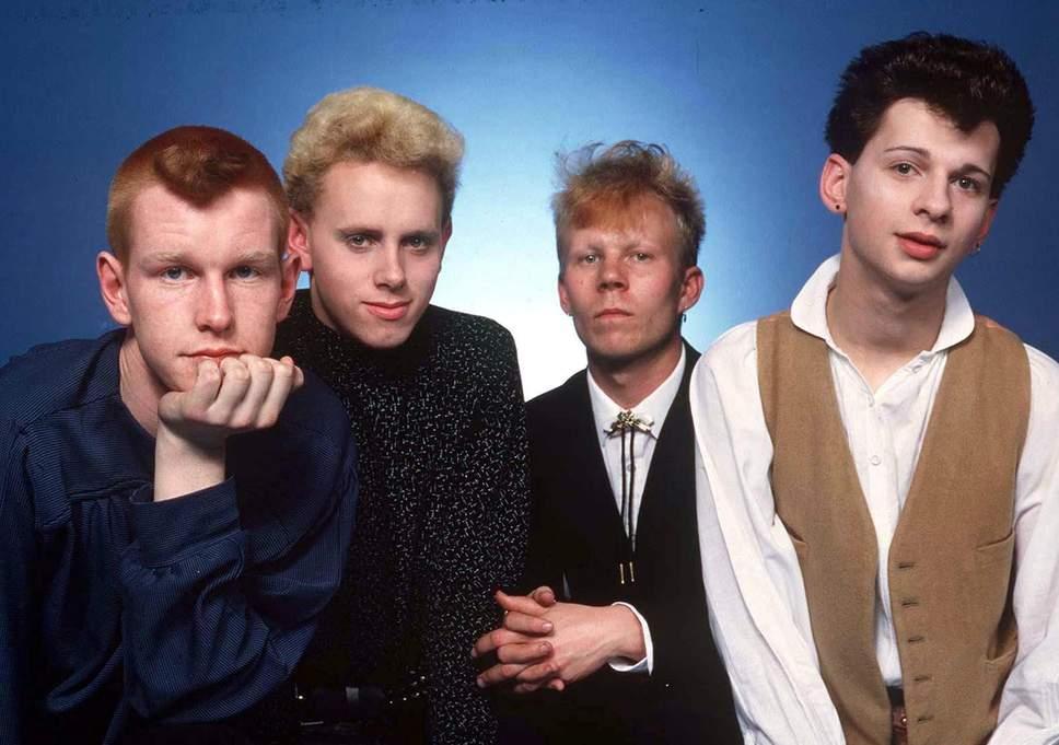 Depeche Mode in 1981