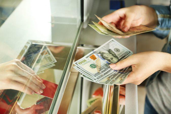 cash deposit fees
