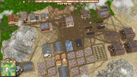 You lead the pioneers of the Wild West. Build towns and establish important  outposts to supply your residents with food and other raw materials.