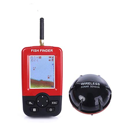 Traveller Location: Portable Fish Finder, NACATIN Fishfinder with Portable Fish  Finder, Fishfinder with Wired Sonar Sensor Transducer and LCD Display: GPS  &