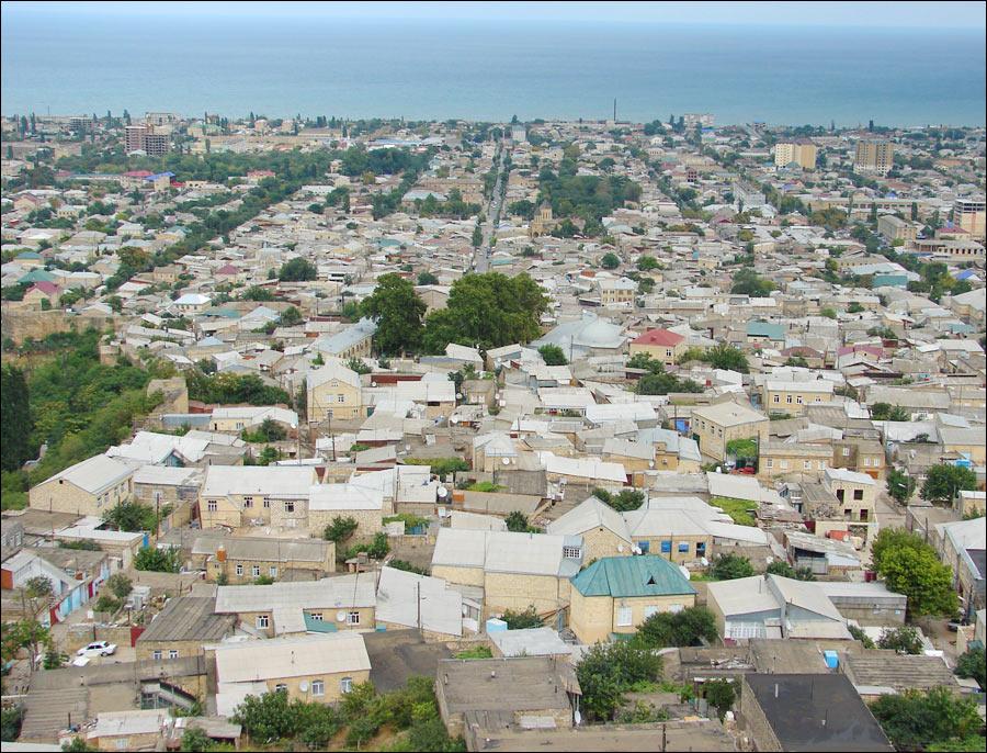 General view of Derbent