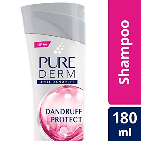 Buy Pure Derm Dandruff Protect Shampoo, 180ml Online at Low Prices in India  - Amazon.in