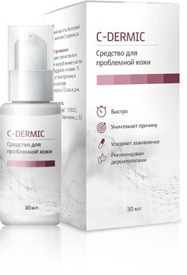 C-dérmica (C-Dermik) - medios para la piel del problema