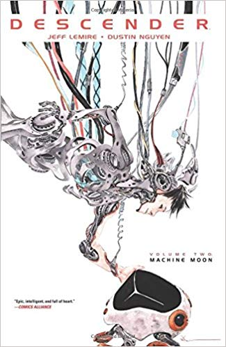 Traveller Location: Descender Volume 2: Machine Moon (9781632156761): Jeff Lemire,  Dustin Nguyen: Books