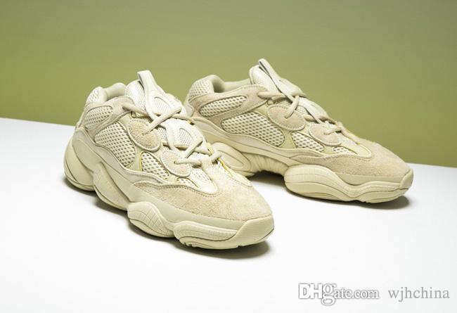 2018 Desert Rat 500 Race Runner Running Shoes Kanye West Designer Blush  DB2908 Sneakers Super Moon Yellow Utility Black Sports Shoes Running Shoes  Sports