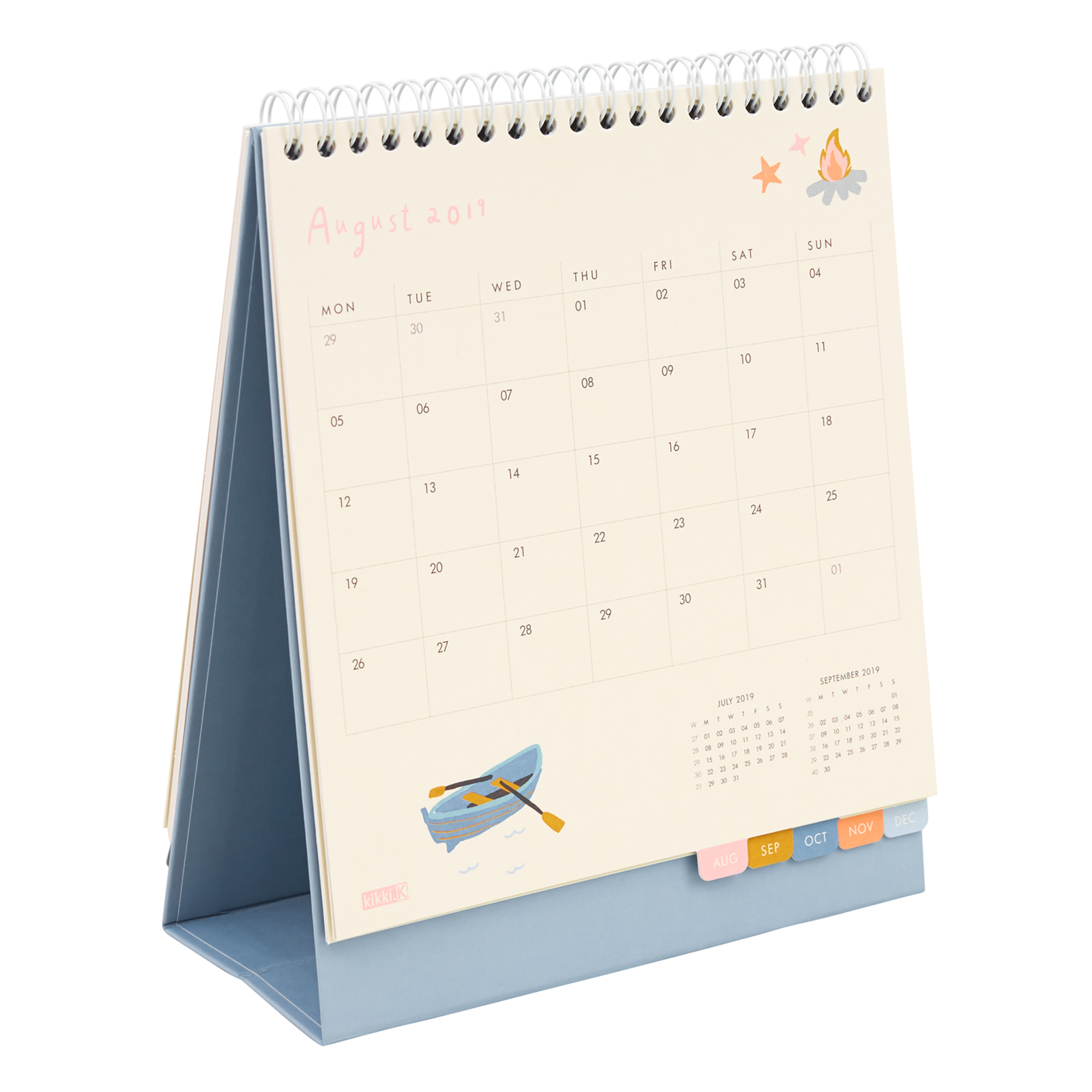 2019 DESK CALENDAR: SWEET, MULTI,