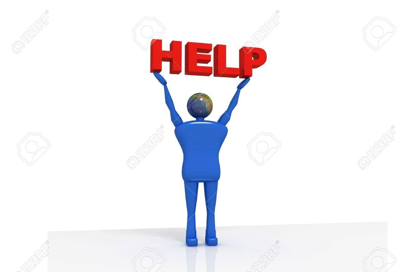 Help Desk Person Stock Photo - 9842056