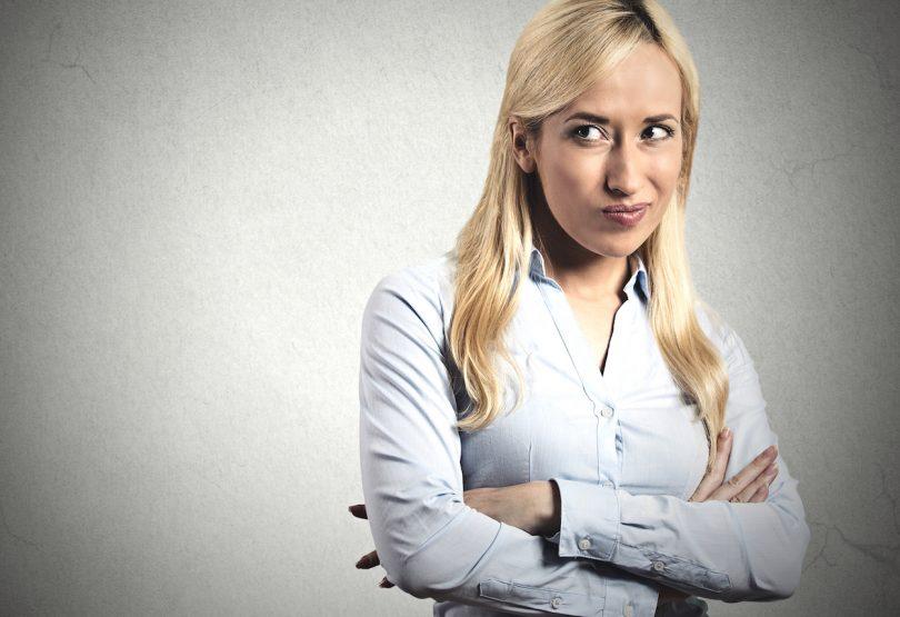 Language tip of the week: dissatisfied
