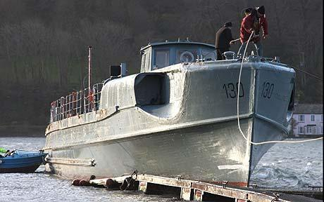 Nazi E-boat saved by military enthusiast