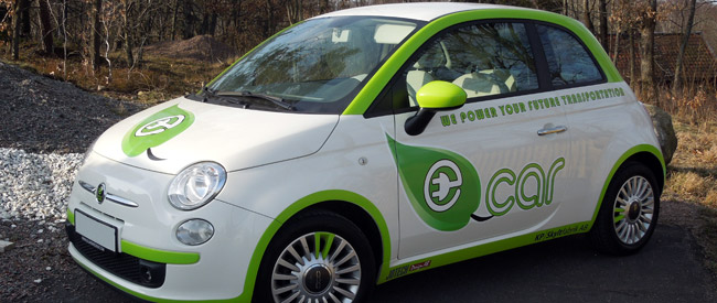 makes the vision of electric vehicles a reality today. Through our  agreement with Italian Fiat Group Automobiles to buy the car model Fiat  500,