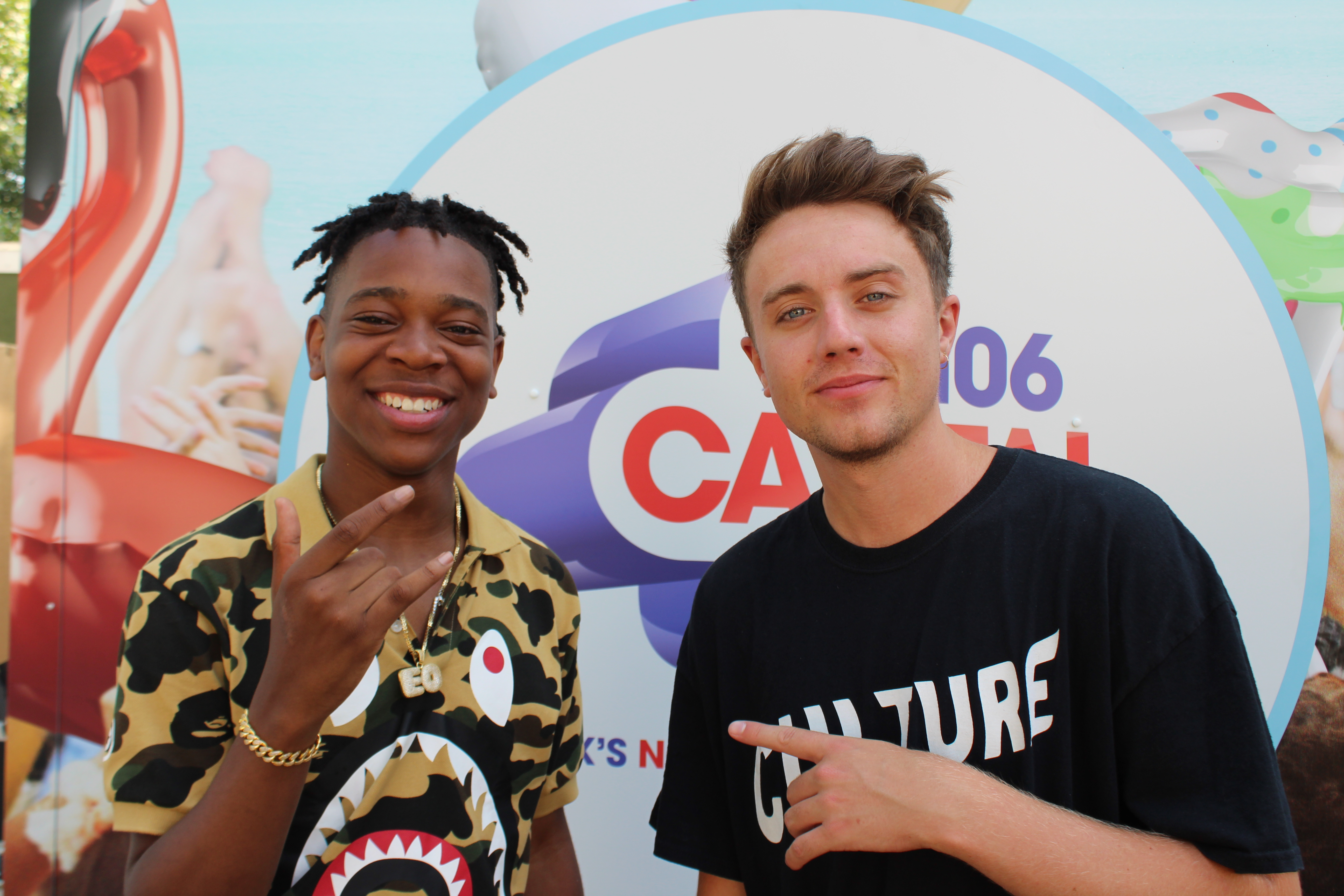 EO Roman Kemp Backstage At Wireless