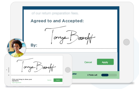 Easy Electronic Signatures