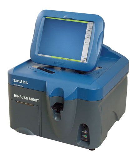 Explosive Trace Detection(ETD) Machines