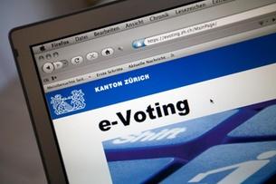 Zurich temporarily suspended e-vote