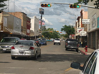 Downtown Eagle Pass