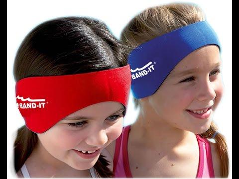 Ear Band-It swim headband & Putty Buddies swimming earplugs