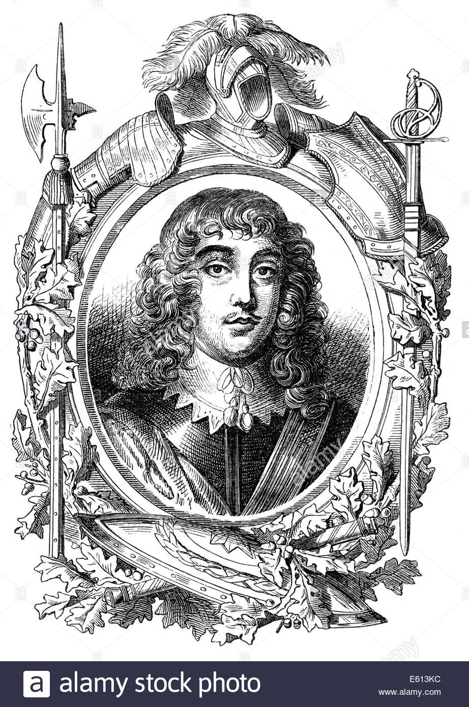 Rupert, Count Palatine of the Rhine, Duke of Bavaria, 1st Duke of  Cumberland, 1st Earl of Holderness, 1619 - 1682, a soldier,
