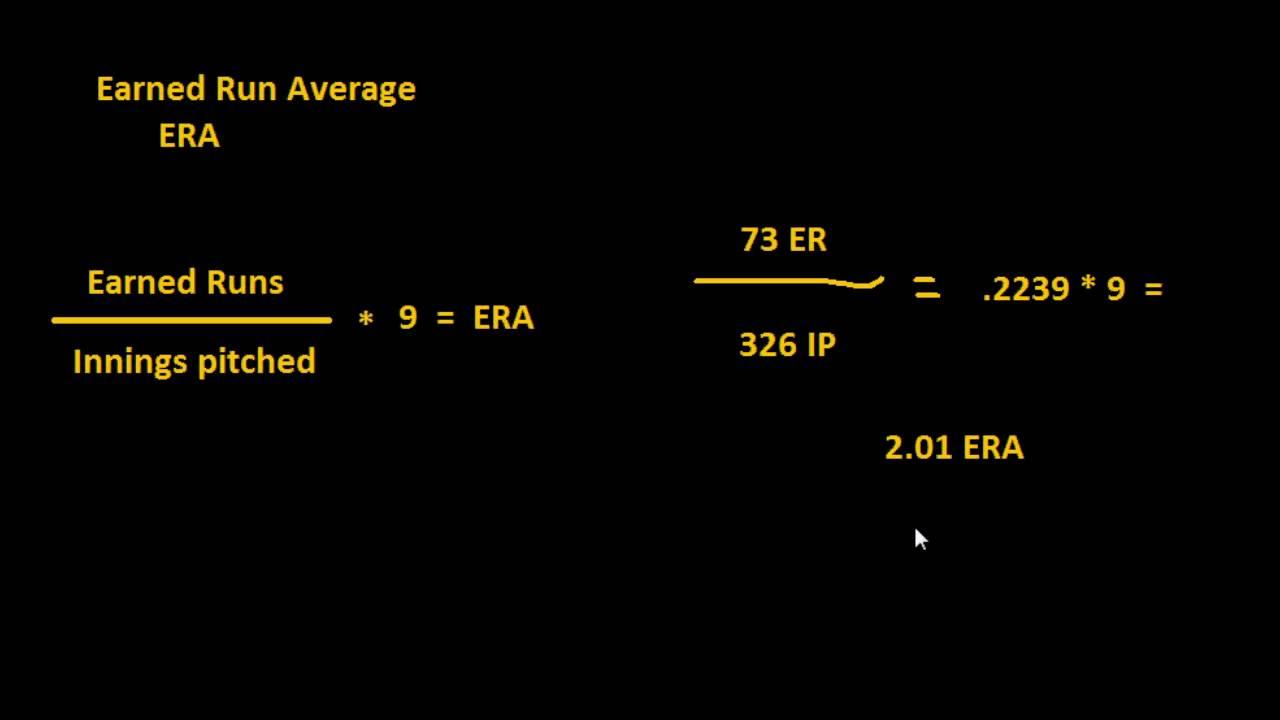 Earned Run Average