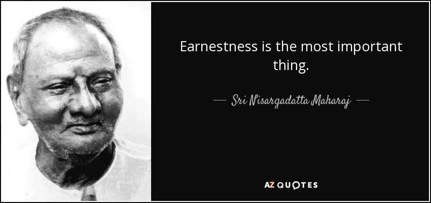 earnestness