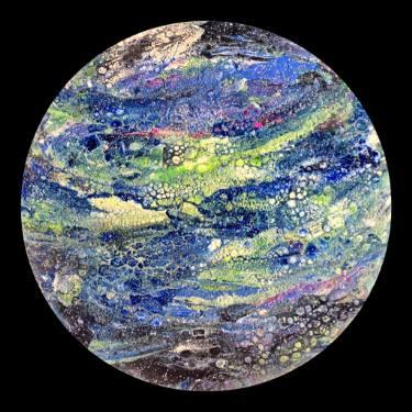 """Saatchi Art Artist Olivia Adina Turcanu; Painting, """"Planet Earth"""" #art"""