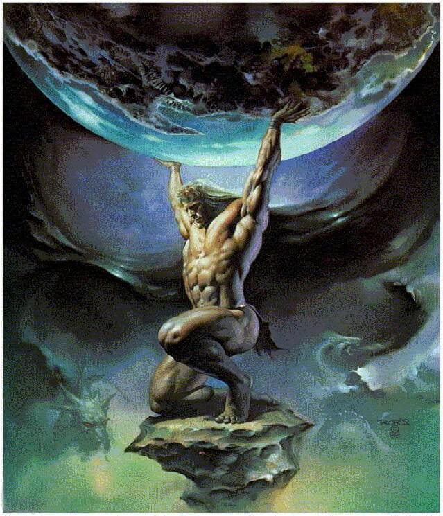 God of Earth in Greek