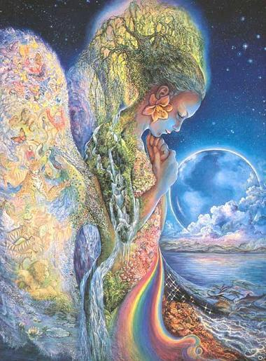 Earth Day makes me think of Mother Earth, Gaia, and how all Women have the  capacity to be an Earth Mother, bringing forth life, and nurturing it in  the