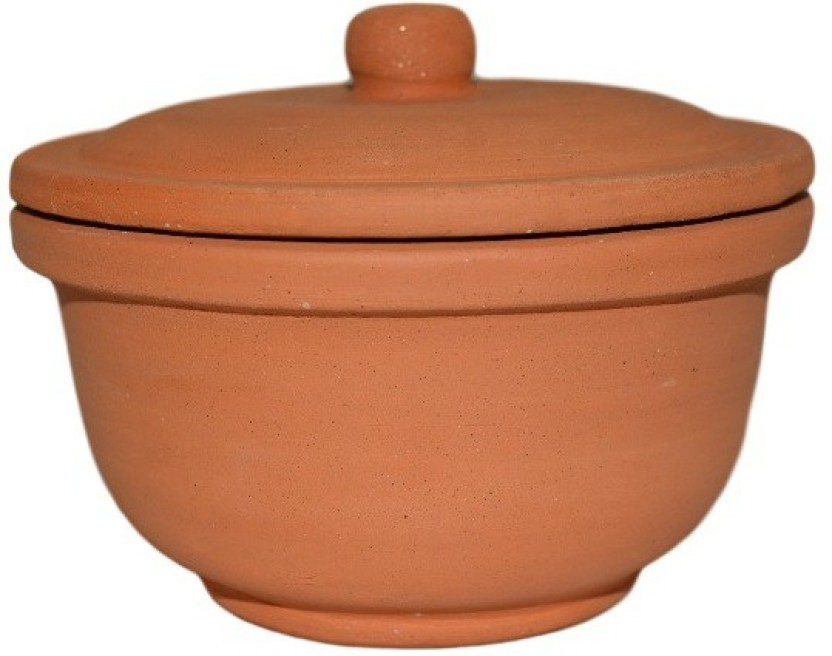Mclay India Clay Curd Earthenware, Pottery Bowl