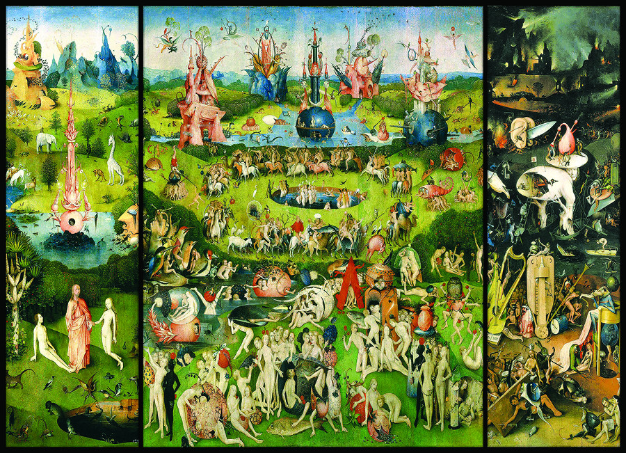 The Garden of Earthly Delights, Triptych Jigsaw Puzzle | Traveller Location