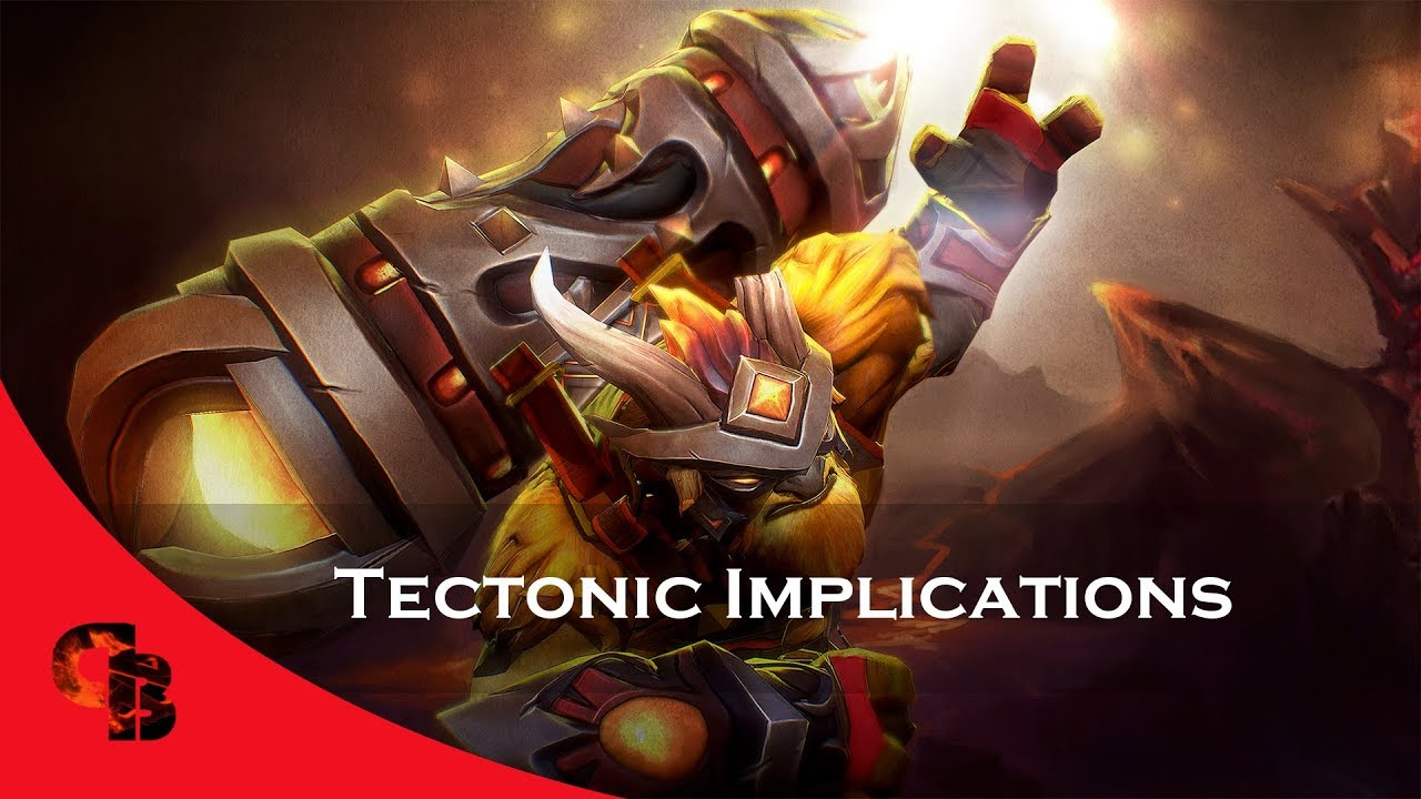 Dota 2: Store - Earthshaker - Tectonic Implications