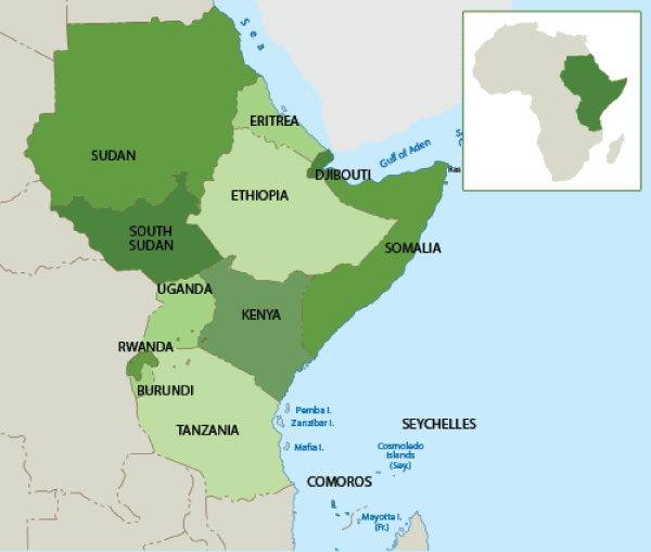 U.S. Military Presence and Activity in Africa: East Africa