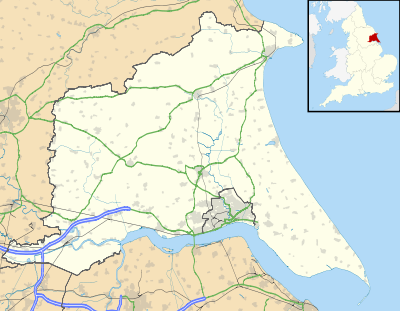 List of civil parishes in the East Riding of Yorkshire is located in East  Riding of