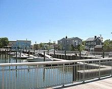 The docks in East Rockaway, renovated in 2005