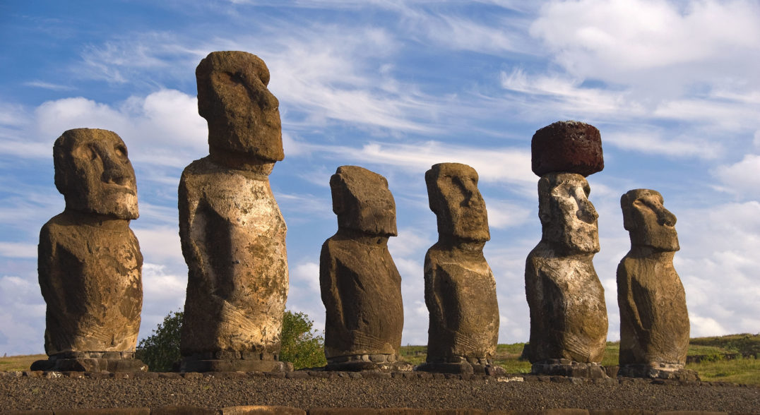 easter island demise - The famous statues of Easter Island have long been a  source of