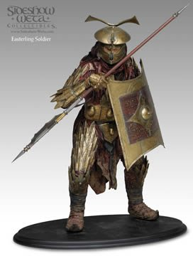 LORD OF THE RING EASTERLING SOLDIER, LIMITED NUMBERED EDITION