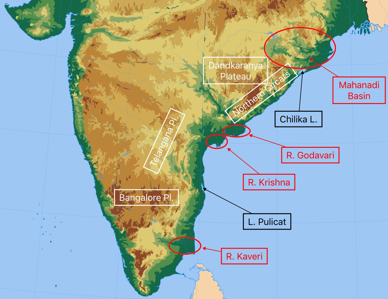 The Eastern Ghats