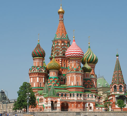 Eastern Orthodox Churches: St. Basil Cathedral, Moscow