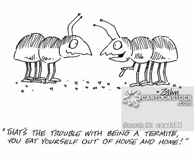 Eaten Out Of House And Home cartoon 1 of 4