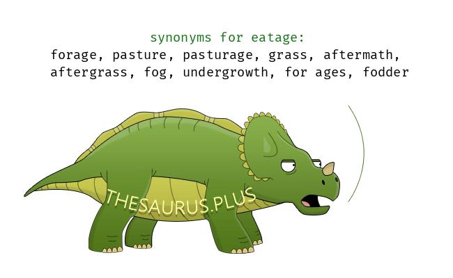 Similar words of eatage