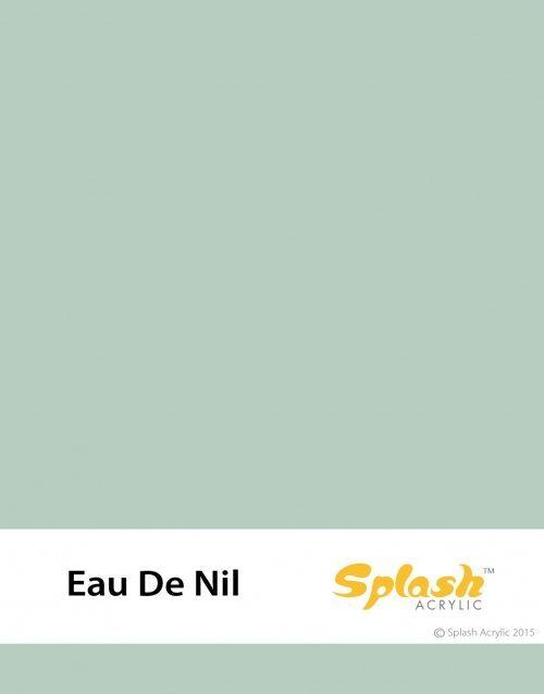 Eau De Nil Acrylic Colour Sample