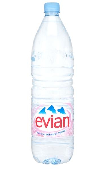 Evian Eau Minérale Naturelle 1,5L