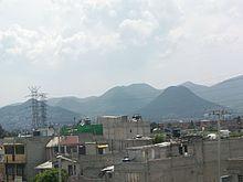 Sierra de Guadalupe in Ecatepec de Morelos.
